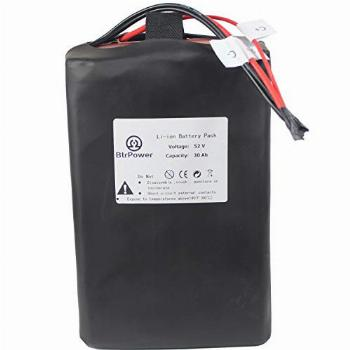 52V Battery - 30AH Lithium Ion Battery Pack with 5A Charger