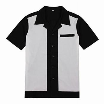 Anchor MSJ Mens 50s Male Clothing Rockabilly Style Casual