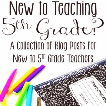 If you are new to teaching 5th grade, you will definitely want to check out this post for tips, ide