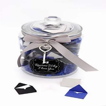 Personalized 52 Reasons Why I Love You Jar