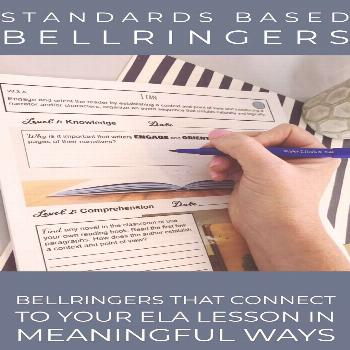 This is the ultimate bellringer journal for secondary ELA! There are six bellringers per standard t