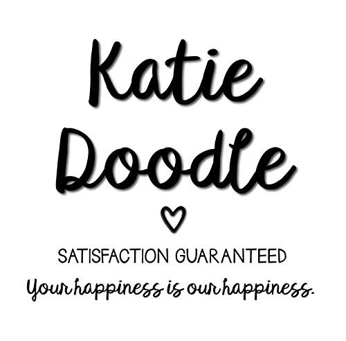 Katie Doodle Rose Gold 5th Birthday Party Supplies